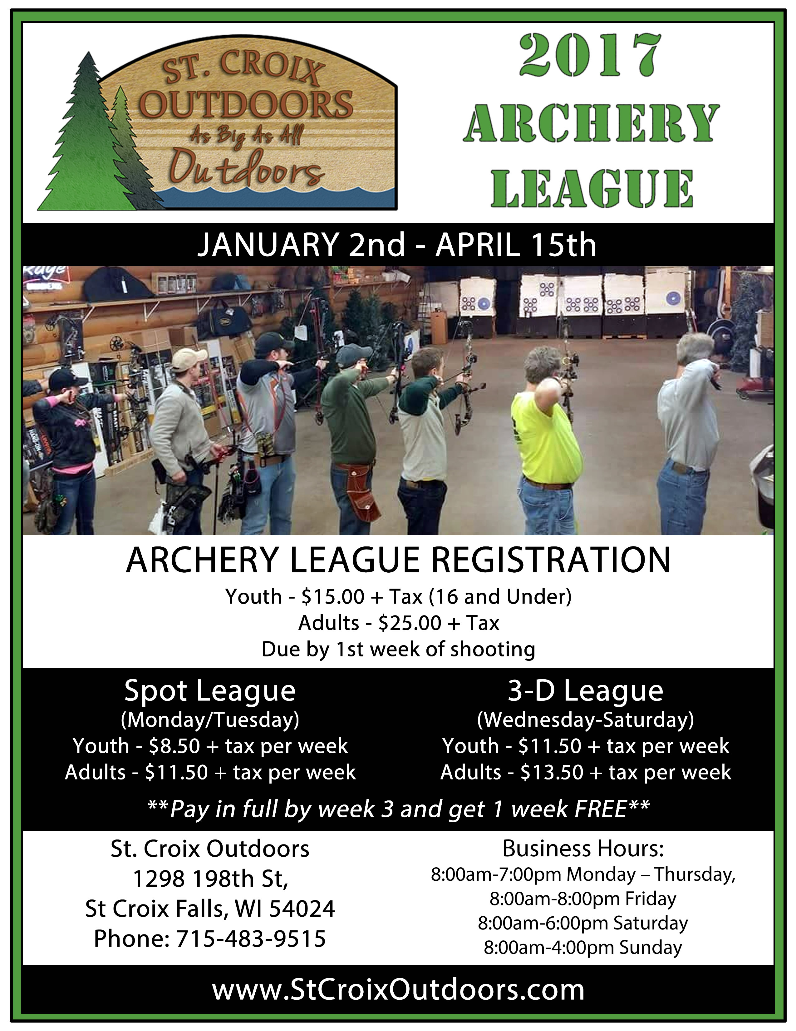 Archery Registration